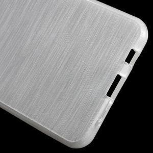 Gélový obal s motivem broušení na Samsung Galaxy A3 (2016) - biely - 4