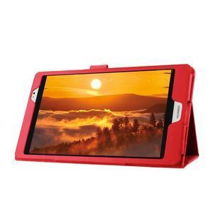 Safe polohovateľné puzdro na tablet Huawei MediaPad M2 8.0 - červené - 4