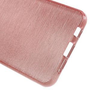 Gélový obal s motivem broušení na Samsung Galaxy A3 (2016) - růžový - 4