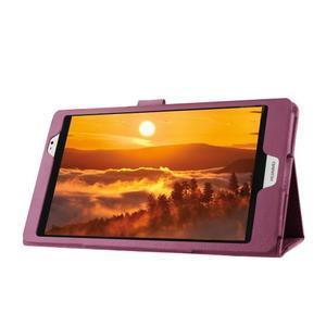 Safe polohovateľné puzdro na tablet Huawei MediaPad M2 8.0 - fialové - 4