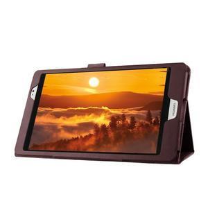 Safe polohovateľné puzdro na tablet Huawei MediaPad M2 8.0 - hnedé - 4