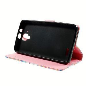 Peňaženkové puzdro na mobil Lenovo A536 - mandala - 4