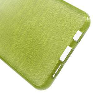 Gélový obal s motivem broušení na Samsung Galaxy A3 (2016) - zelený - 4