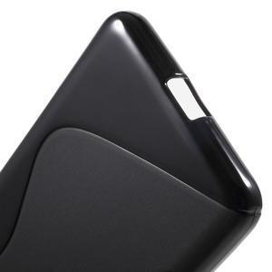 S-line gélový obal na mobil Microsoft Lumia 650 - čierný - 4