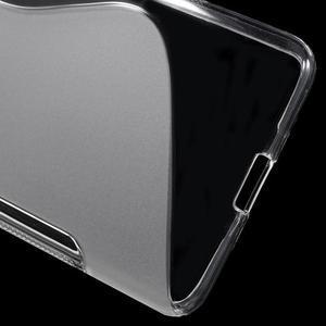 S-line gélový obal na mobil Microsoft Lumia 650 - transparentný - 4