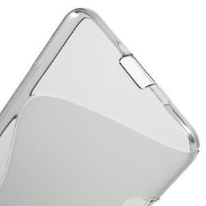 S-line gélový obal na mobil Microsoft Lumia 650 - šedý - 4