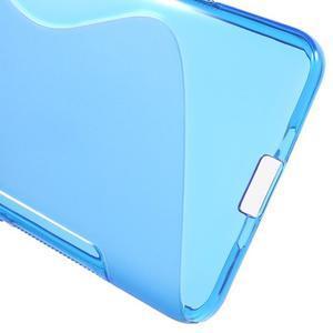 S-line gélový obal na mobil Microsoft Lumia 650 - modrý - 4