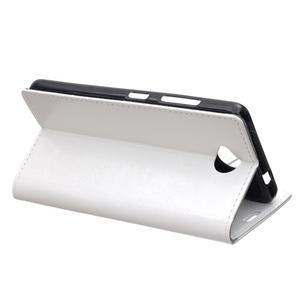 Fold peňaženkové puzdro na Microsofst Lumia 650 - biele - 4