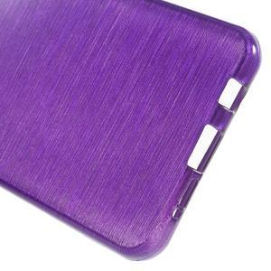 Gélový obal s motivem broušení na Samsung Galaxy A3 (2016) - fialový - 4