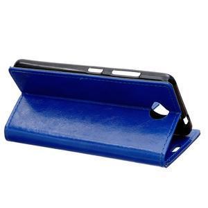 Fold peňaženkové puzdro na Microsofst Lumia 650 - modré - 4