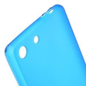 Matný gélový kryt pre Sony Xperia M5 - modrý - 4