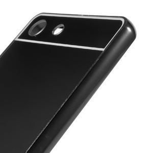 Kryt s kovovým obvodom pre Sony Xperia M5 - čierny - 4