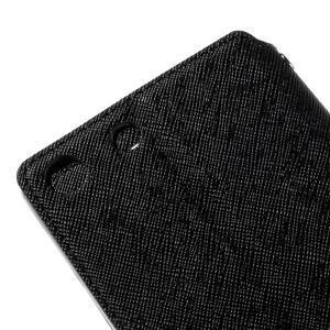 Diary pouzdro s okýnkem na Sony Xperia M5 - černé - 4