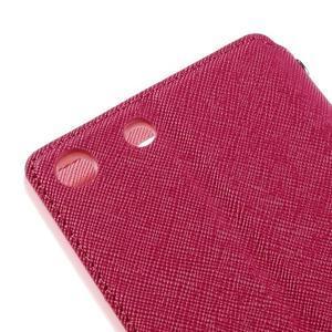 Diary puzdro s okienkom na Sony Xperia M5 - rose - 4