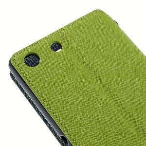 Diary pouzdro s okýnkem na Sony Xperia M5 - zelené - 4