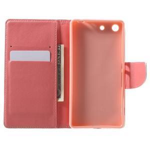 Stand peněženkové pouzdro na Sony Xperia M5 - láska Eiffelka - 4