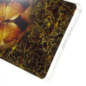 Gélový obal pre mobil Sony Xperia M5 - motýľ - 4