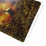 Gélový obal pre mobil Sony Xperia M5 - motýľ - 4/5