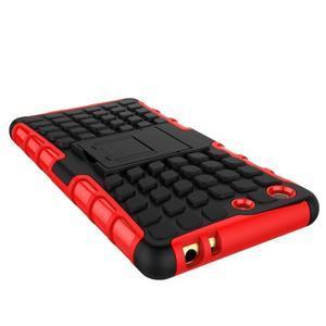 Outdoor odolný kryt na mobil Sony Xperia M5 - červený - 4