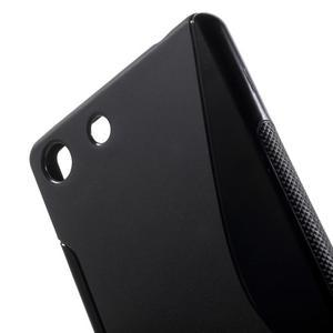S-line gelový obal na mobil Sony Xperia M5 - černé - 4