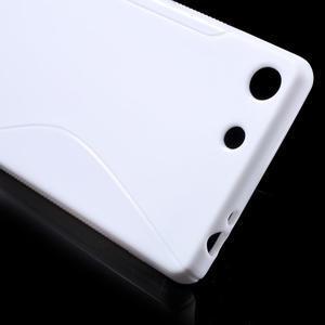 S-line gelový obal na mobil Sony Xperia M5 - bílé - 4