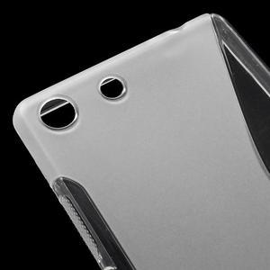 S-line gelový obal na mobil Sony Xperia M5 - transparentní - 4