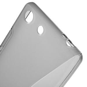 S-line gelový obal na mobil Sony Xperia M5 - šedé - 4