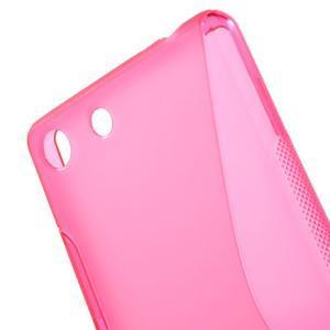 S-line gelový obal na mobil Sony Xperia M5 - rose - 4