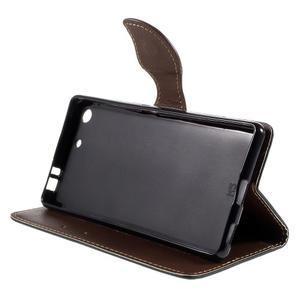 Blade Peňaženkové puzdro pre Sony Xperia M5 - čierne - 4