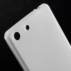 Matný gélový kryt pre Sony Xperia M5 - transparentné - 4
