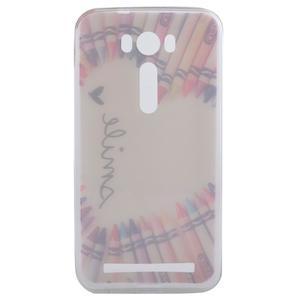 Softy gelový obal na mobil Asus Zenfone 2 Laser - smile - 4