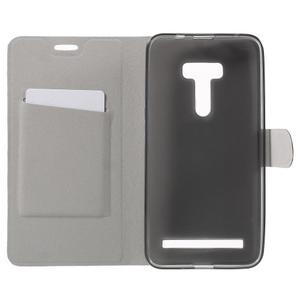 Horse peňaženkové puzdro na Asus Zenfone Selfie ZD551KL - modré - 4