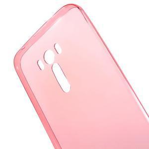 Ultratenký slim obal 0.6 mm pre Asus Zenfone Selfie - červený - 4
