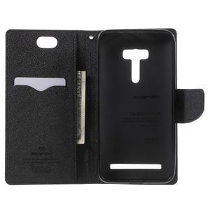 Mr. Goos peňaženkové puzdro pre Asus Zenfone Selfie ZD551KL - čierné - 4