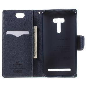 Mr. Goos peňaženkové puzdro pre Asus Zenfone Selfie ZD551KL - cyan - 4