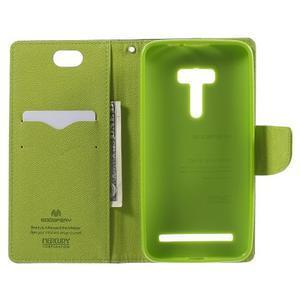 Mr. Goos peňaženkové puzdro na Asus Zenfone Selfie ZD551KL - tmavo modré - 4