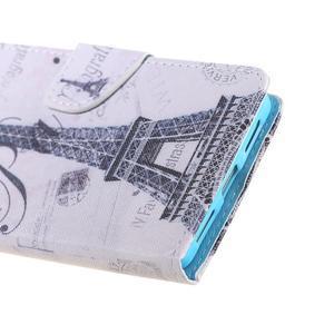 Knížkové pouzdro na mobil Honor 5X - Eiffelova věž - 4