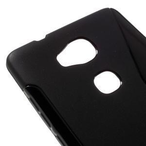 S-line gelový obal na mobil Honor 5X - černý - 4