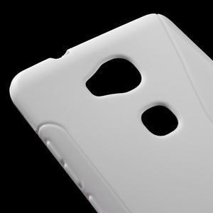 S-line gelový obal na mobil Honor 5X - bílý - 4