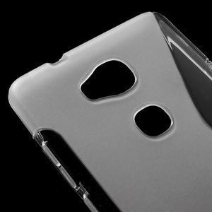 S-line gélový obal pre mobil Honor 5X - šedý - 4