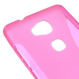 S-line gelový obal na mobil Honor 5X - rose - 4