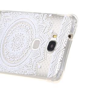 Transparentní gelový obal na Honor 5X - henna - 4
