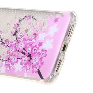 Transparentní gelový obal na Honor 5X - kvetoucí větvička - 4