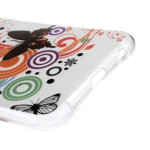 Emotive gelový obal na mobil Honor 8 - motýlci - 4