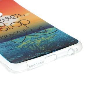 Emotive gelový obal na mobil Honor 8 - nepřestávej snít - 4