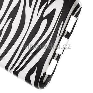 Gelový obal Style na Huawei Ascend P8 Lite - zebra - 4