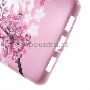 Gelový obal Style na Huawei Ascend P8 Lite - kvetoucí větvička - 4