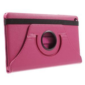 Otočné polohovatelné pouzdro na Huawei MediaPad M2 - rose - 4
