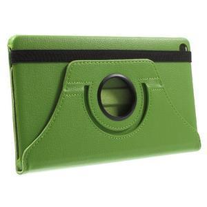 Otočné polohovatelné pouzdro na Huawei MediaPad M2 - zelené - 4