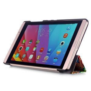 Třípolohové pouzdro na tablet Huawei MediaPad M2 8.0 - vortex - 4